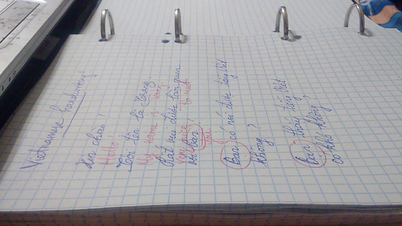 Vietnamese handwriting - YouTubeVietnamese Cursive