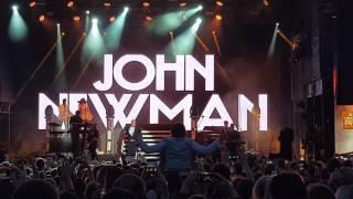 John Newman - (Still Gotta) Fire In Me @ Bosco Fresh Fest in Moscow 25th June 2017