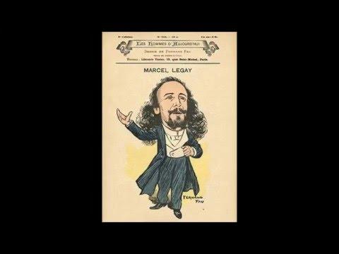 Le chansonnier Marcel Legay