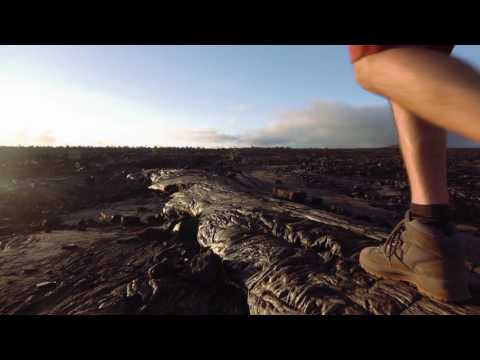 Hawaii Volcanoes National Park: Hiking through Lava Fields and Craters