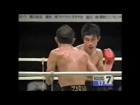 ダニエル・サラゴサvs原田剛志 WBC世界J・フェザー級タイトルマッチ