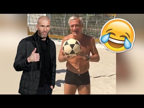 Zidane et Deschamps chambrent Vieri sur Instagram !
