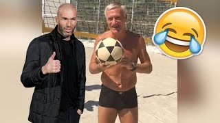 Zidane et Deschamps chambrent Vieri sur Instagram !