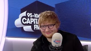 Girlfriend Cherry had to brush Ed Sheeran's teeth