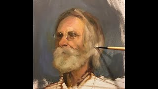 Portrait Painting Demonstration | Having a Strong Start