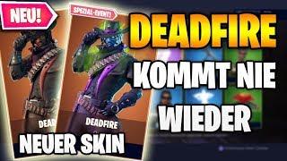 NEW DEADFIRE SKIN COMES NEVER 🤔😱 Today New Fortnite Shop 25.10 | Item Shop 25 October 🛒