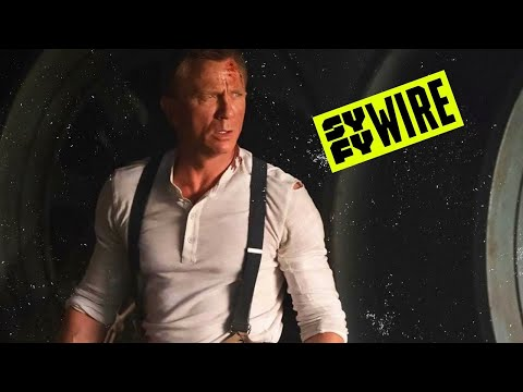 SYFY WIRE REACTS - No Time To Die | SYFY WIRE