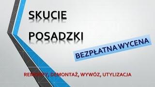 Skuwanie podłóg, posadzek, tel. 504-746-203  betonowej podłogi, wylewki, cena. Wrocław