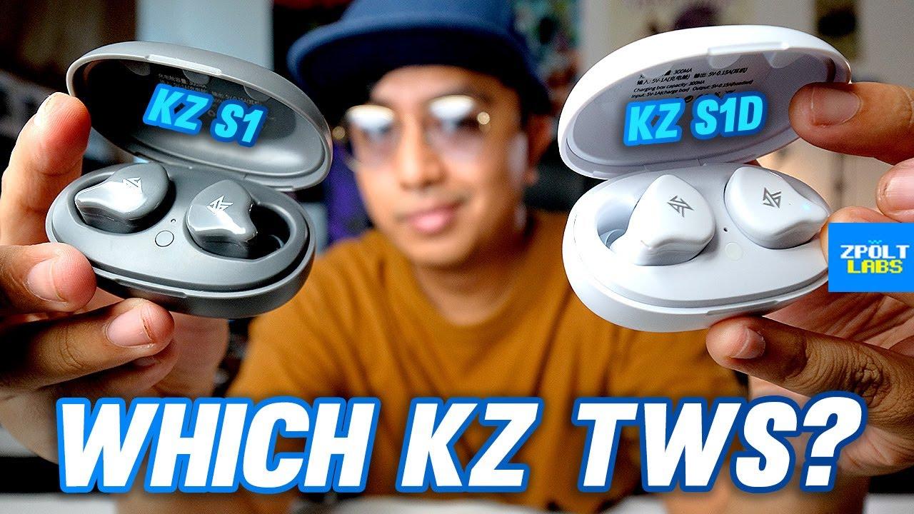 KZ S1 vs KZ S1D Comparison + Review - Which KZ 'Truly Wireless' to