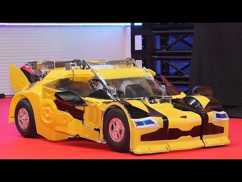 驚愕の完全自動変形!「トランスフォーマー」最新型がお披露目!「バンブルビー クォーター」Fully automatic TRANSFORMERS #Transformers