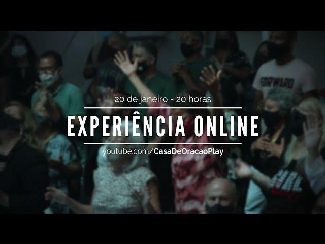 20jan21 Pr. Rogerinho| experiência online