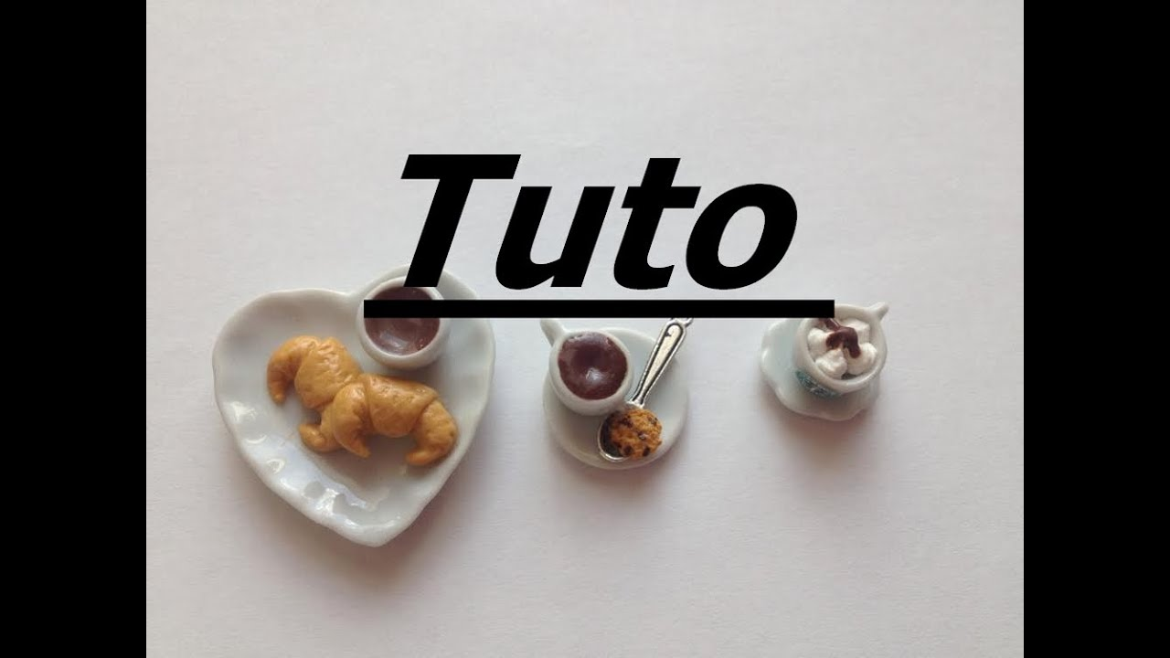Tuto Fimo - Café gourmand - YouTube