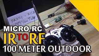 how to convert IR to RF V1 micro rc