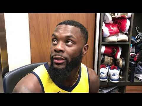 Lance Stephenson after the Pacers' Game 3 win