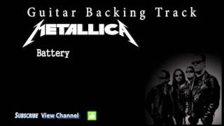 Metallica - Battery Guitar Backing Track w/Vocals