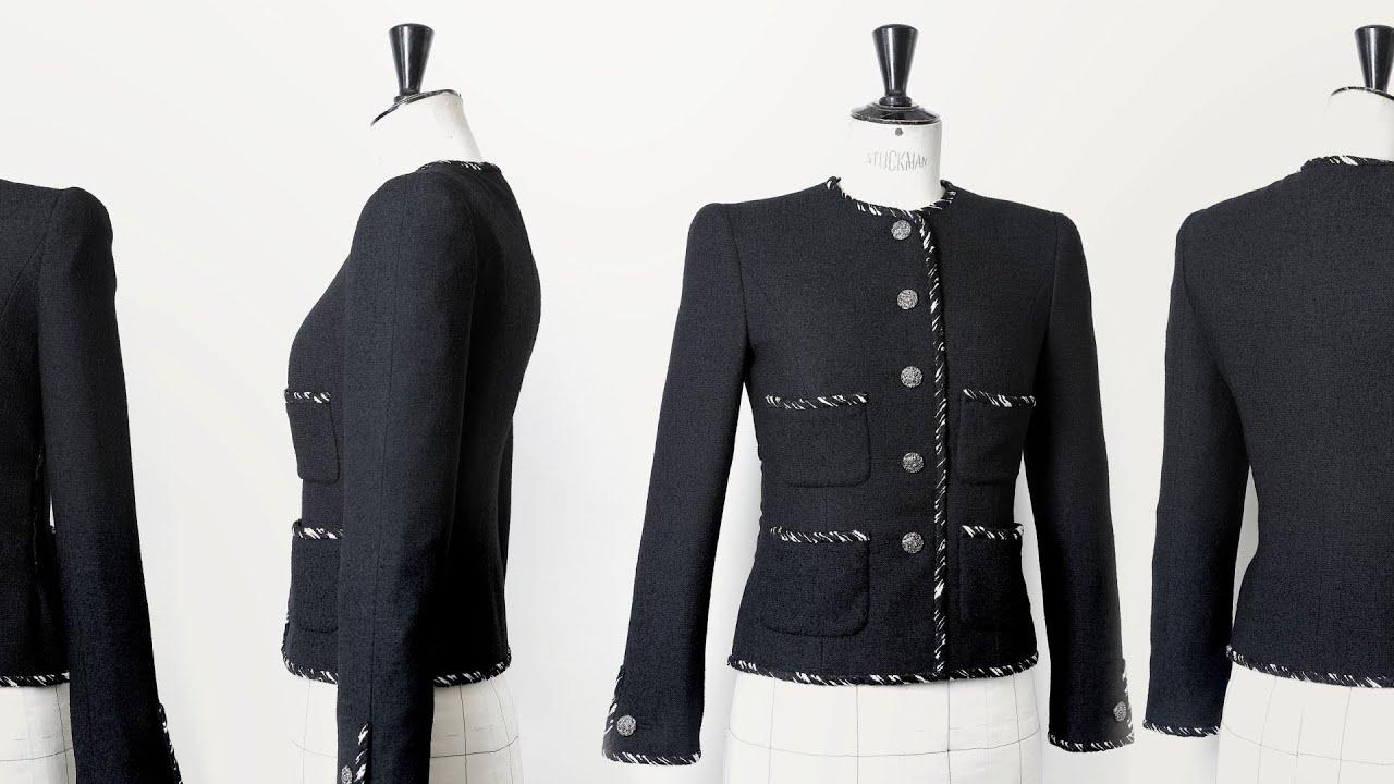 La haute couture inside chanel youtube for Haute couture jacket