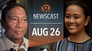 Rappler Newscast: Mercado vs Binay, Aquino impeachment raps, Michael Brown funeral
