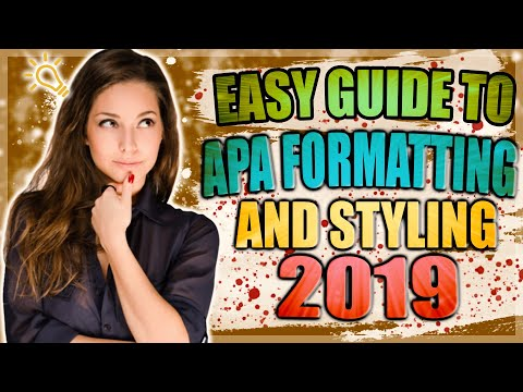 How to do APA MLA Harvard Referencing easily In Research Paper 2019