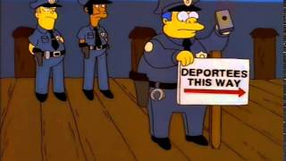 Deportees This Way (The Simpsons)