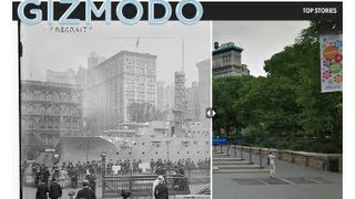 The Battleship That Took Over Union Square, New York City