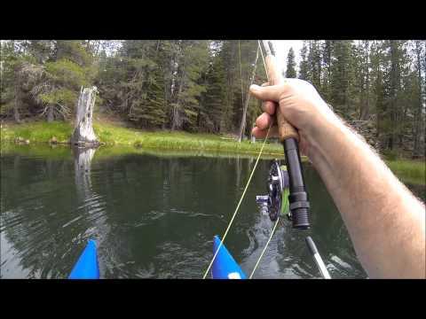 Pontoon Boat Fly Fishing In The Sierras 6 28 15