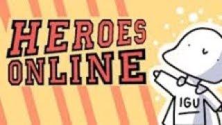como upar rapido no heroes online #2 |roblox