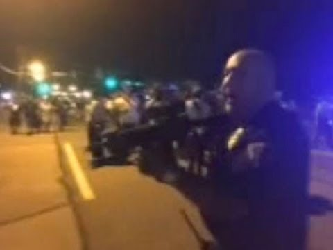 Officer Who Pointed Gun at Protesters Suspended, 10:03 AM - Associated Press  - Th3I8cQ82cQ -