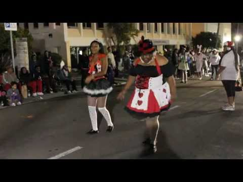 No Limit Star Crew At Santa Parade Hamilton Bermuda November 27 2011
