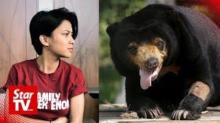 Singer who kept sun bear in her house speaks up
