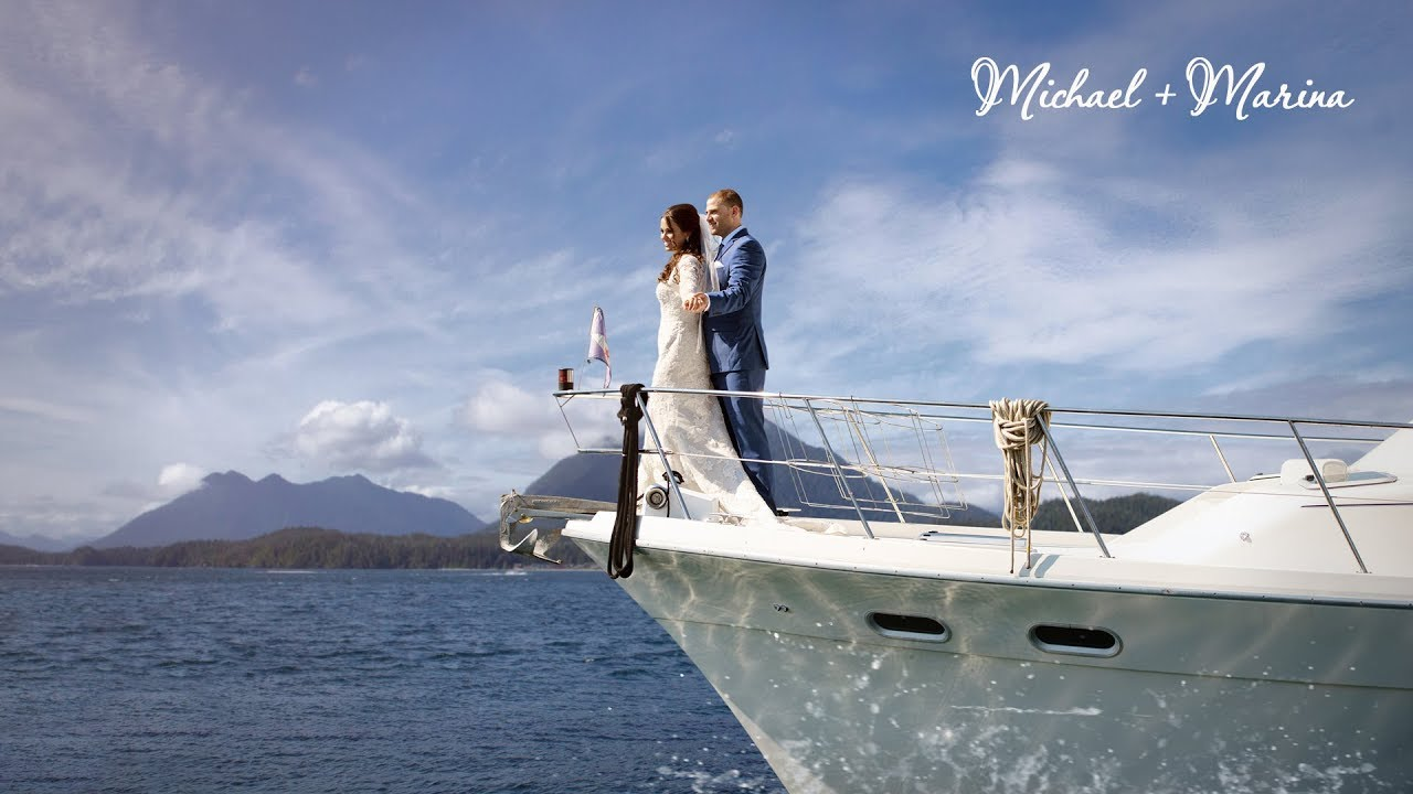 Marina and Michael  M&M  Best Moments  Edmonds Yacht Club  Seattle wedding  videography