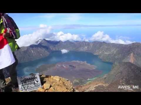 Wonderful Mount Rinjani, Lombok, Indonesia