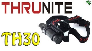 Thrunite TH30 record bright headlamp!