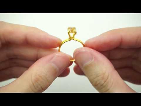 DIY UV resin Engagement Ring Tutorial - Love is in the air