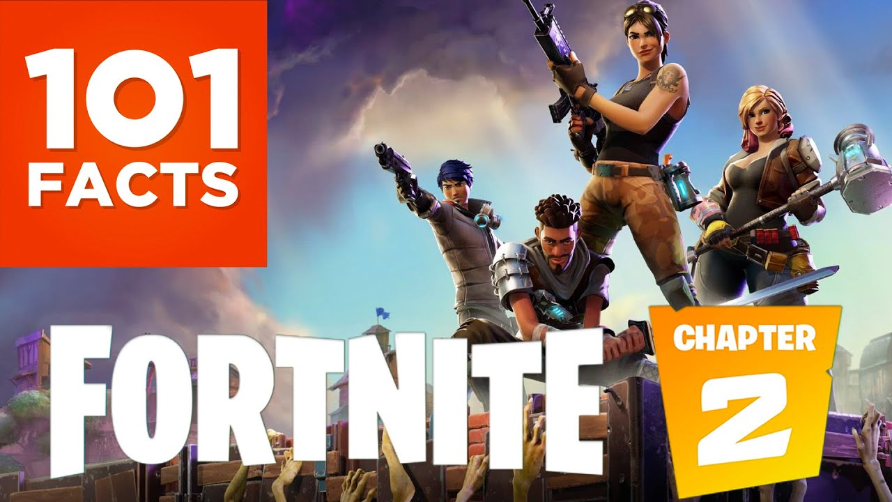 101 Facts About Fortnite Youtube