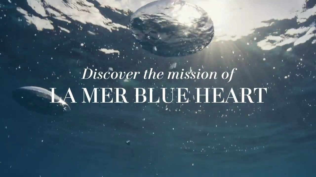 We Are All Bodies of Water   La Mer Blue Heart