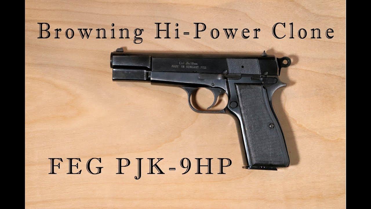 FEG PJK-9HP - Browning Hi-Power Clone!