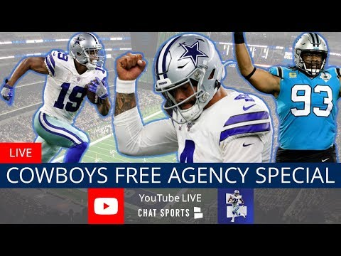 Dallas Cowboys Report With Tom Downey - NFL Free Agency Frenzy (March 18)