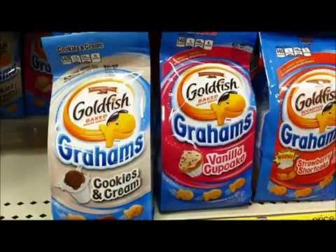 Trudy Samples Sweet Flavored Goldfish Crackers (Trudy's World)
