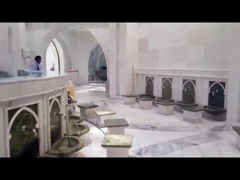Father Sheikh Zayed Mosque UAE - Ablution Area FHD 1080
