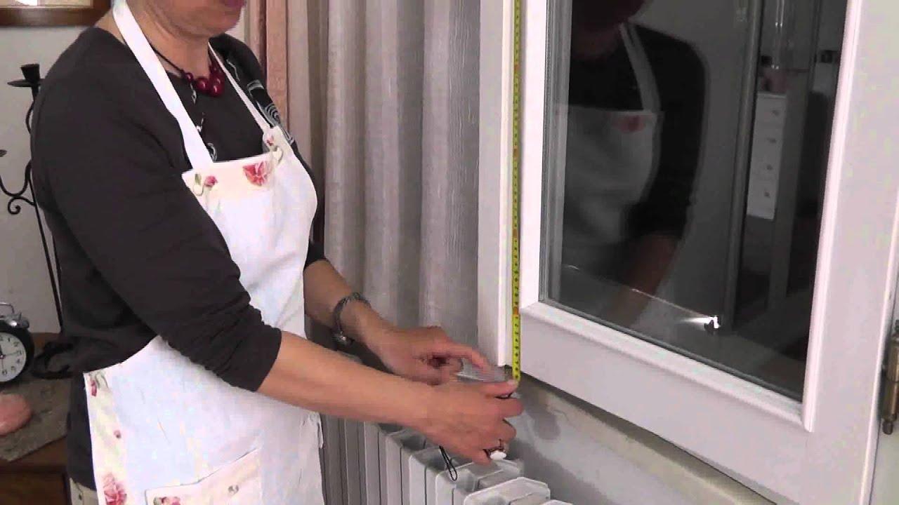 Come misurare le finestre per le tende a vetro veli - Tende parasole per finestre ...