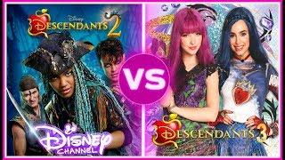 Descendants 2 VS Descendants 3 Musically Battle | If You Love Disney Descendants You Must watch! Video