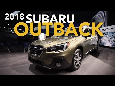 2018 Subaru Outback and 2018 Subaru Ascent Concept First Look - 2017 New York Auto Show