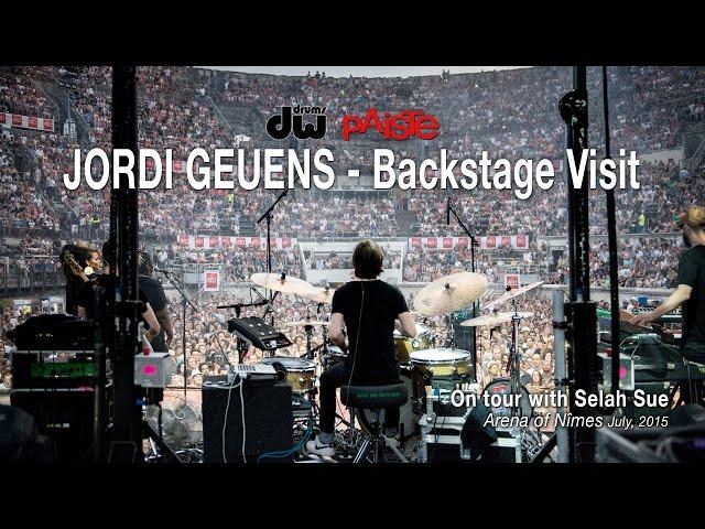 Jordi Geuens - Backstage Visit on Selah Sue Tour