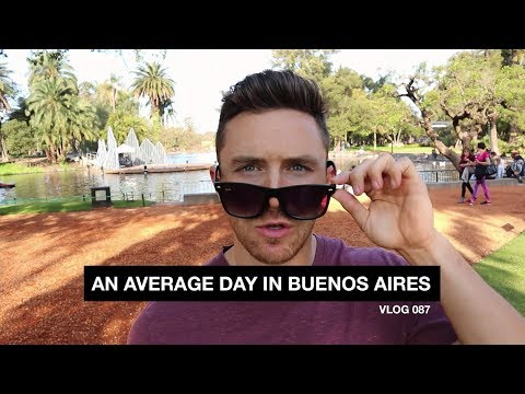 An Average Day in Buenos Aires - Vlog 87