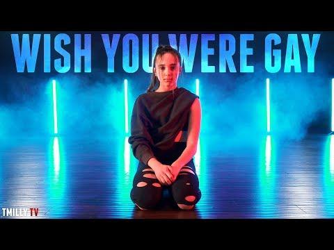 Billie Eilish - Wish You Were Gay - Dance Choreography By Erica Klein - #TMillyTV