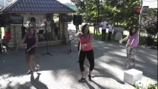 Зумба-фит Юрлова Светлана, ТЦ Альби, Арбат 24/08/2013