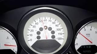 Глюк на приборке Dodge Caliber