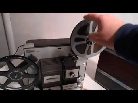 VERY NICE BELL & HOWELL 456A AUTOLOAD DUAL 8mm PROJECTOR