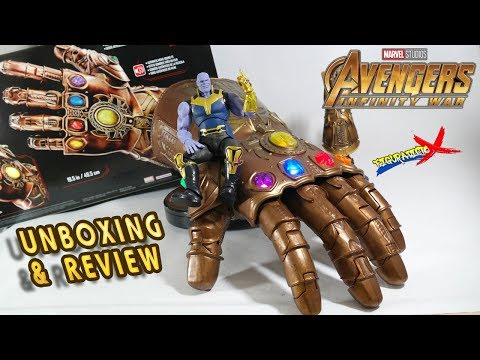 Review Guantelete del Infinito Marvel Legends Avengers Infinity War Hasbro 2018 Revision Español
