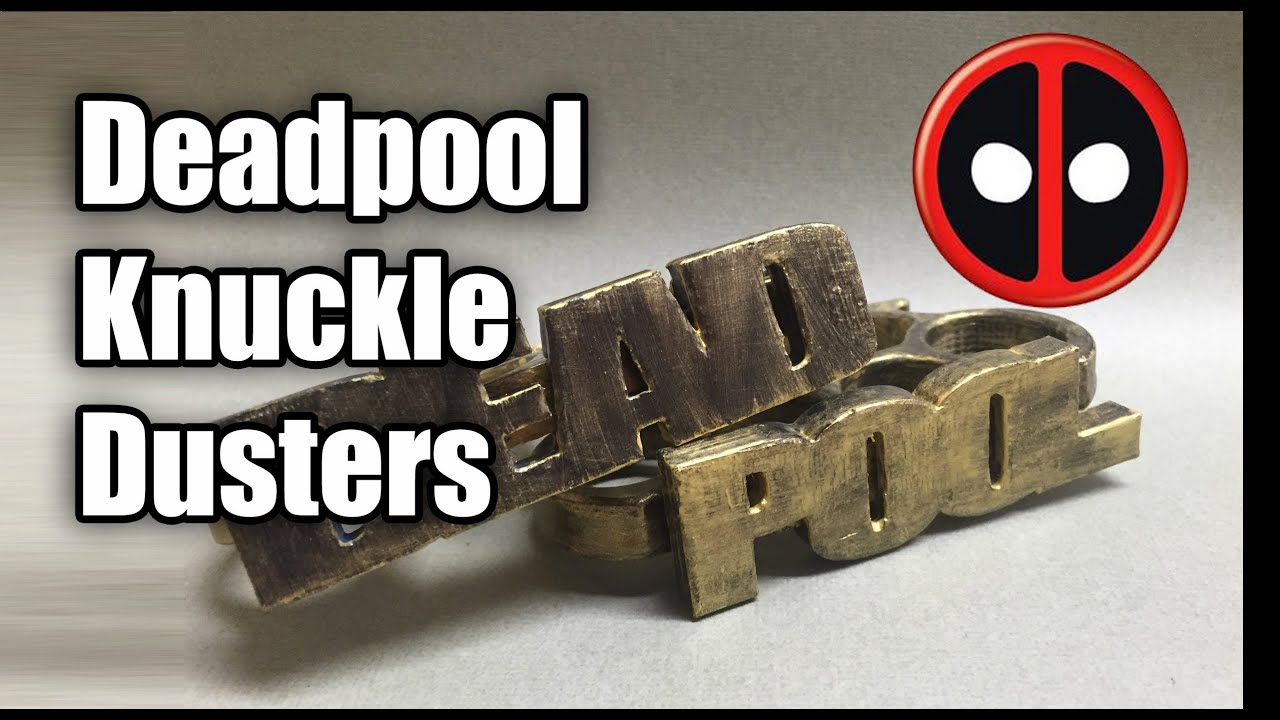 how to make knuckle dusters out of wood